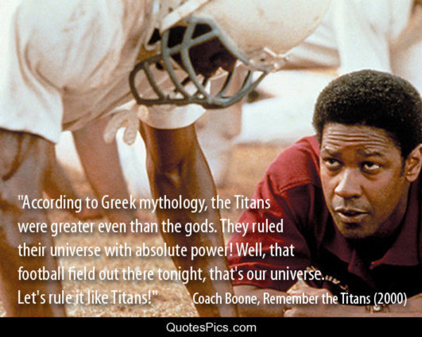 remember the titans review essay