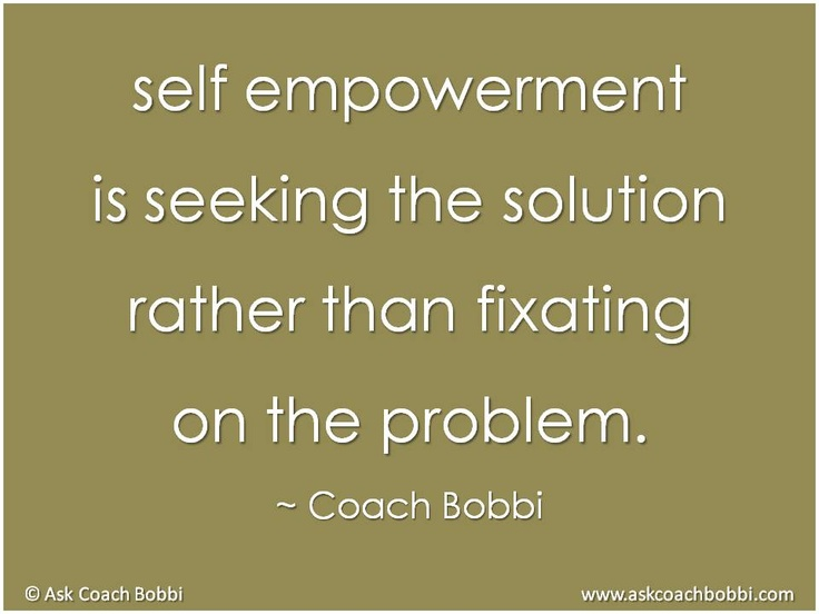 how to empower oneself