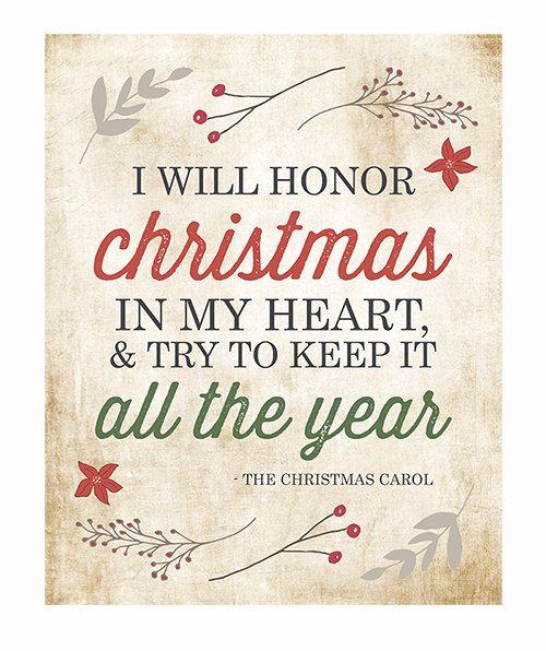 thexerxescom - Christmas Carol Quotes