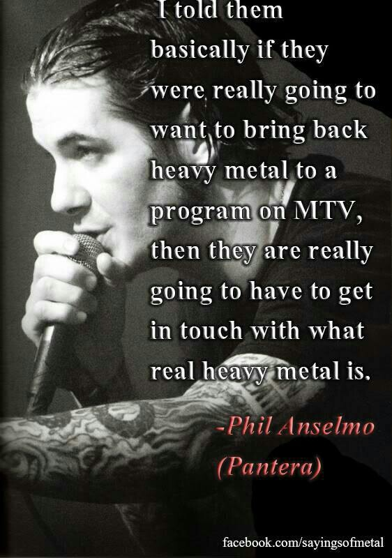 Quotes About Heavy Metal Music 23 Quotes