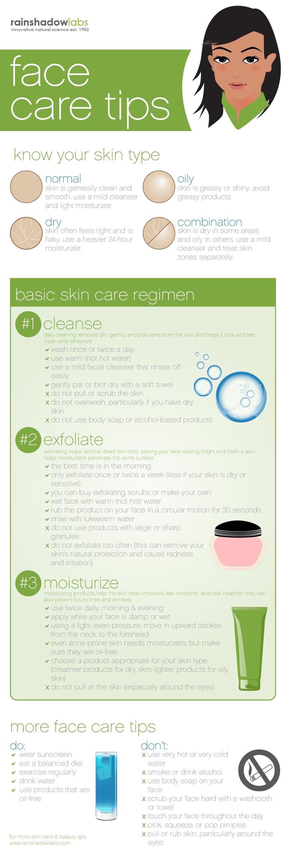 Tips for facial care