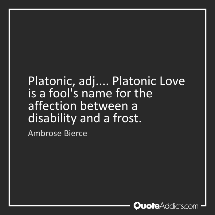 a personal account of a platonic relationship between friends How to understand platonic love and confusion of feelings or making your friendship relationship awkward with your friend own personal definition of.