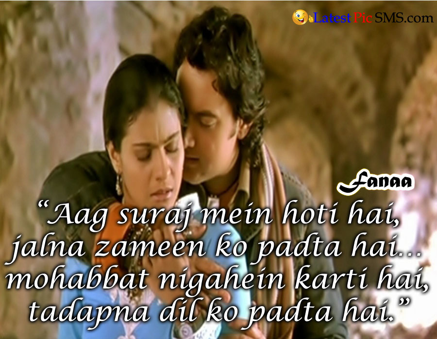 Fanaa film dialogues download.