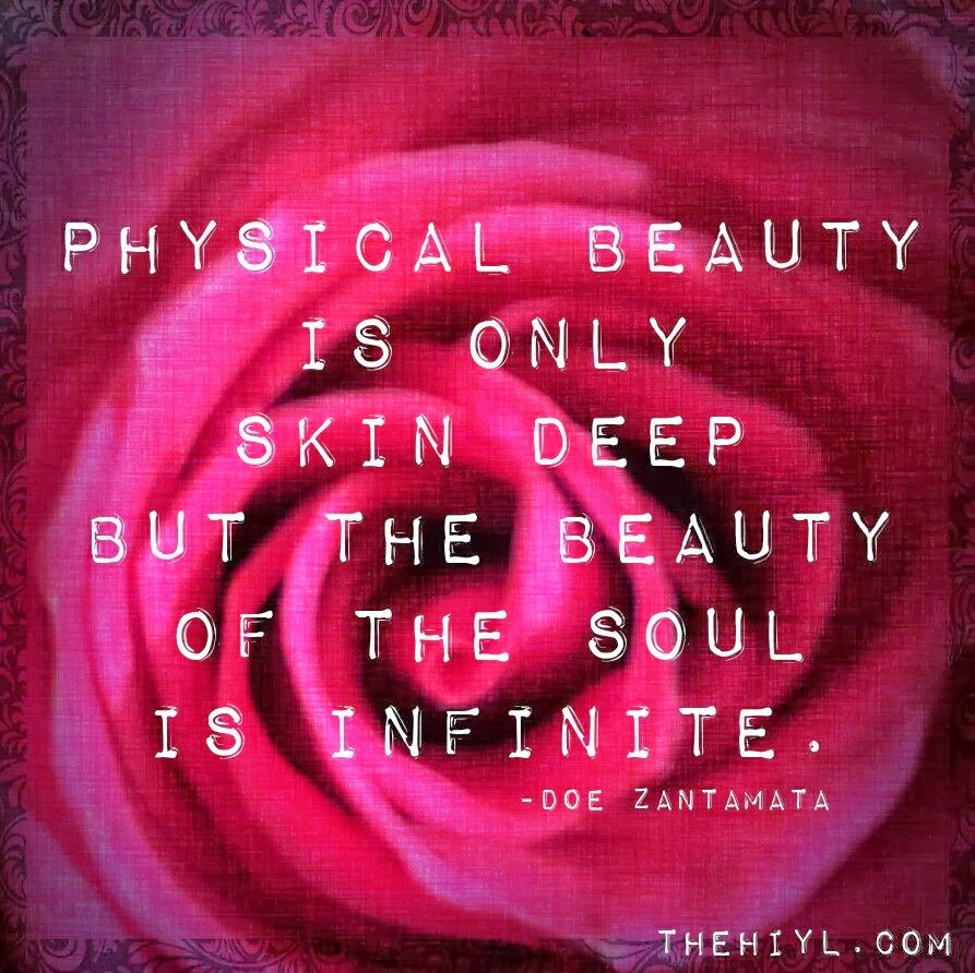 physical beauty is superficial