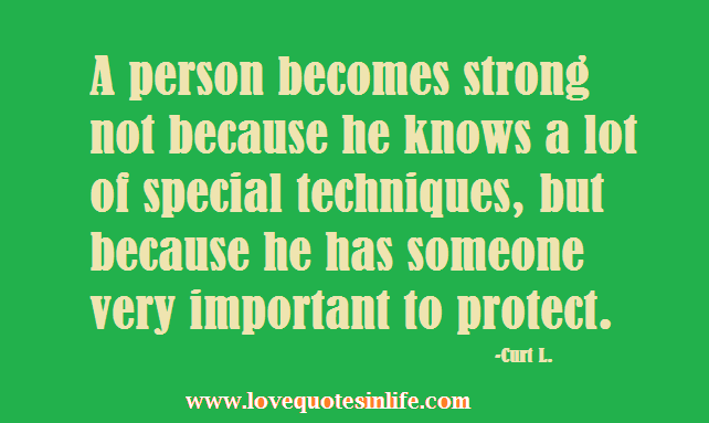 a important person