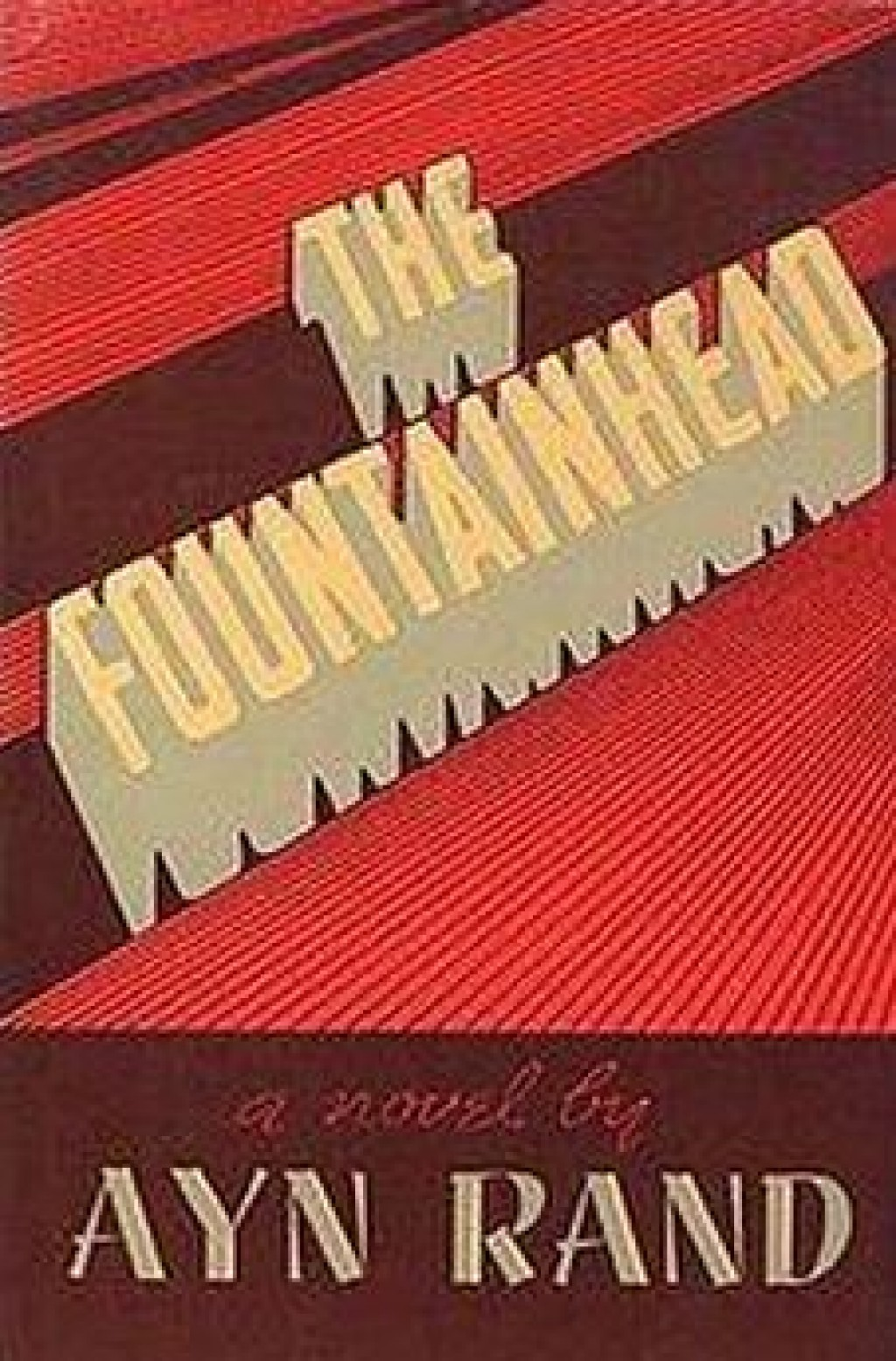 an analysis of the fountainhead The fountainhead is a 1949 american black-and-white drama film, produced by henry blanke, directed by king vidor, and starring gary cooper, patricia neal.