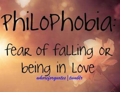 phobia of falling in love