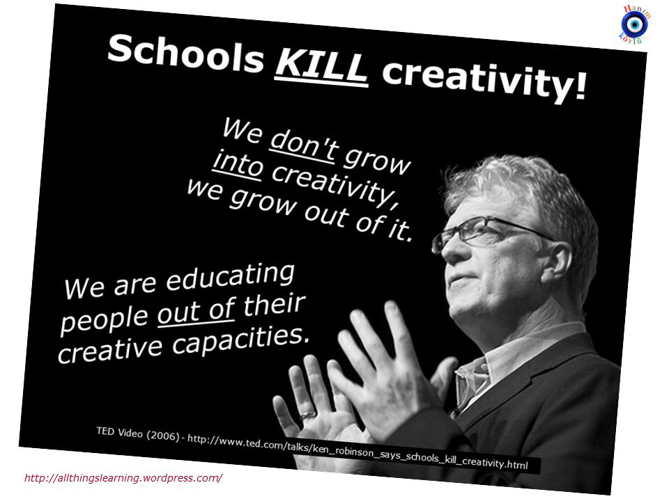schools kill creativity summary gerald sir ken robinson: do schools kill creativity sir ken robinson started off introducing three themes one is the extraordinary evidence of human.