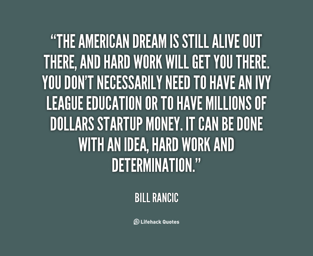 american dream is it overrated 'the american dream, overrated freedom up comes the title of the movie 'the american dream 'the american dream' original script by ross mcneil.
