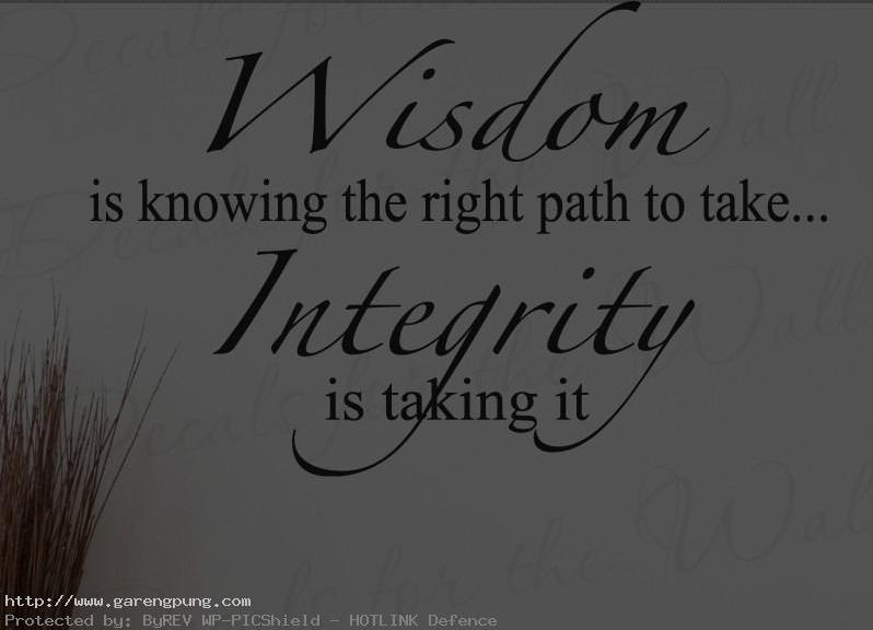 Quotes About Integrity And Character 52 Quotes