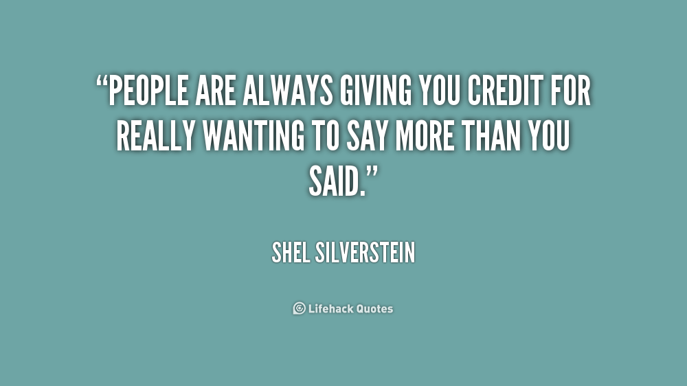 Shel Silverstein Quotes About Education: Quotes About Credit Risk (30 Quotes