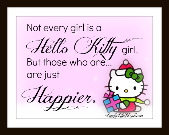 Hello kitty pictures with quotes — img 2