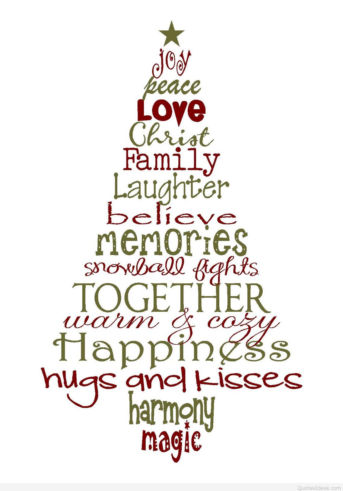 Quotes About Christmas Love Family 38 Quotes