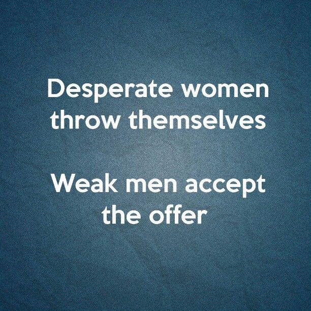 Women desperate for love