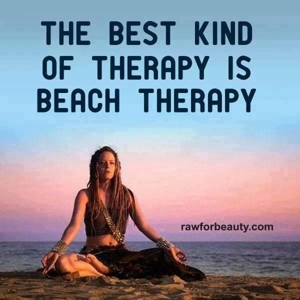Quotes About Beach Therapy 23 Quotes