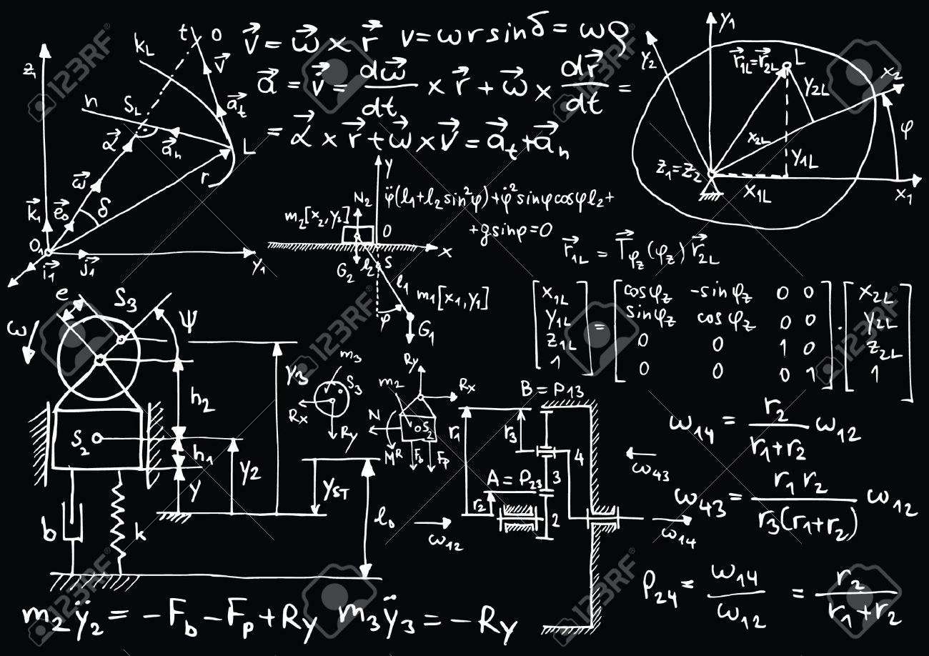 Astounding vectors in math photographs