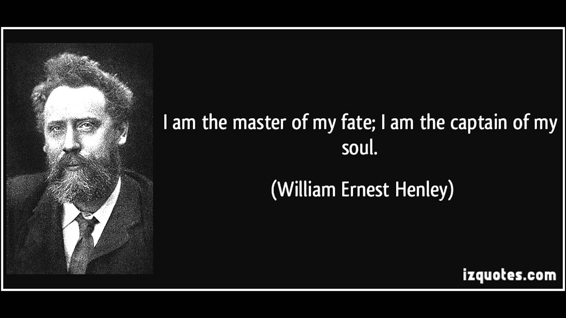 "invictus william ernest henley ""invictus"" was written when henley was in the hospital being treated for tuberculosis of the bone, also known as pott's disease the poem is about showing undivided courage in the face of death and keeping the dignity against all the hardships in life."