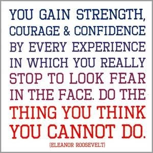 Quotes About Strength Eleanor Roosevelt 21 Quotes