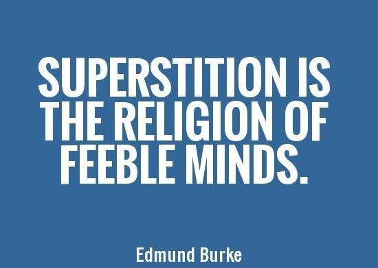 relgion vs superstition essay