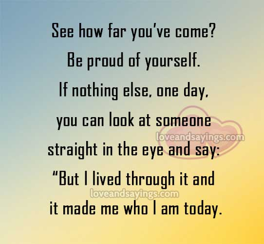 Quotes About Making You Proud 60 Quotes Unique Proud Of You Quotes