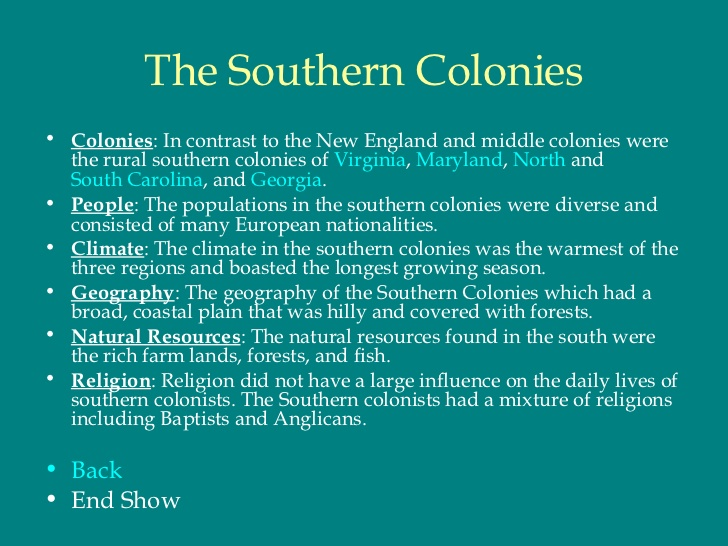 "colonial essay experience – for the spanish, their motives were economic and religion they wanted to ""christianize natives"" they were mostly located in south america."