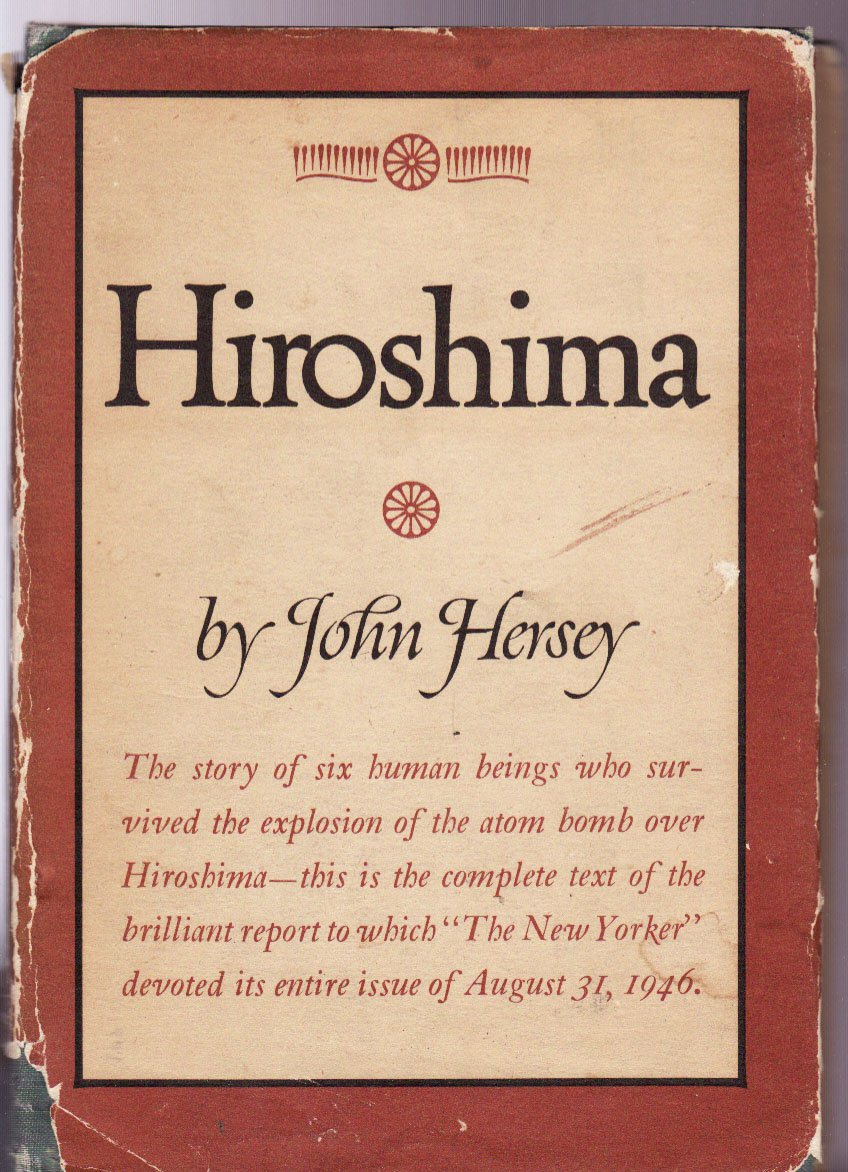 an analysis of hiroshima a book by john hersey 1 hiroshima by john hersey chapter one a noiseless flash at exactly fifteen minutes past eight in the morning, on august 6, 1945, japanese time, at the moment when the atomic bomb flashed above.