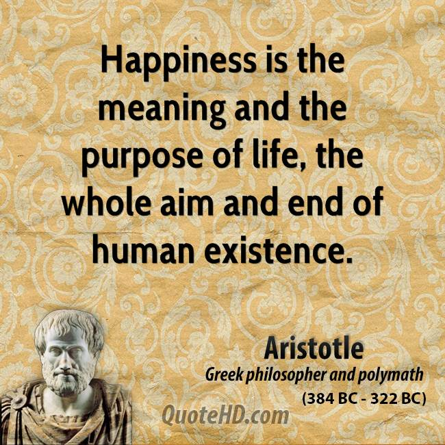 the existence of happiness A proof of the existence of god james kidd may 1, 2006 share the first vatican council taught that the existence of god can be proven by our reason alone.