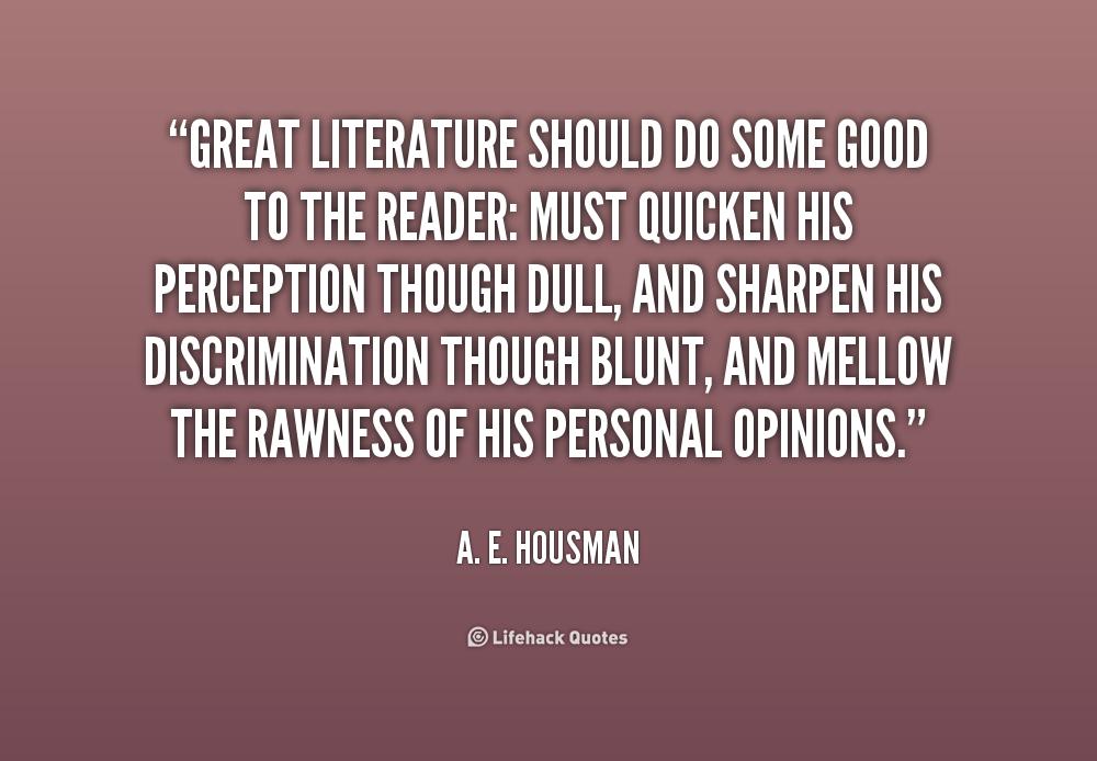 Literature Quotes   Quotes About Value Of Literature 31 Quotes