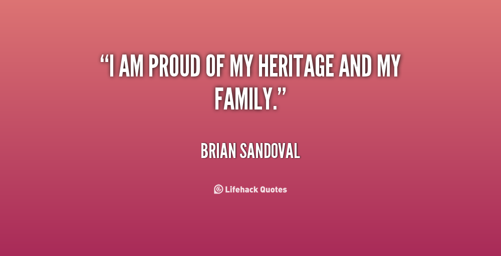 my family heritage