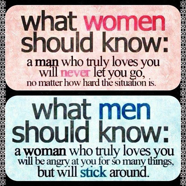 why a woman loves a man