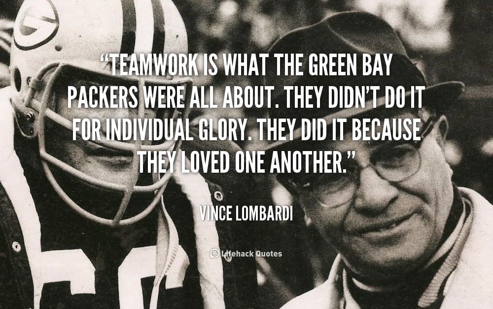 Quotes About Green Bay Packers 55 Quotes