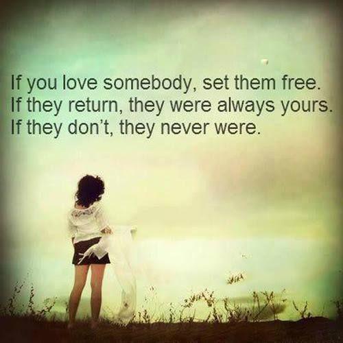 if you love set it free