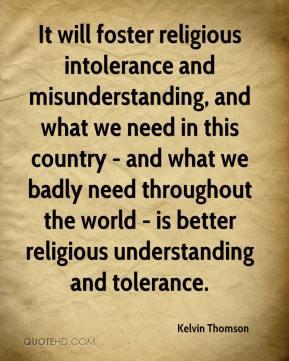 religious tolerance essay