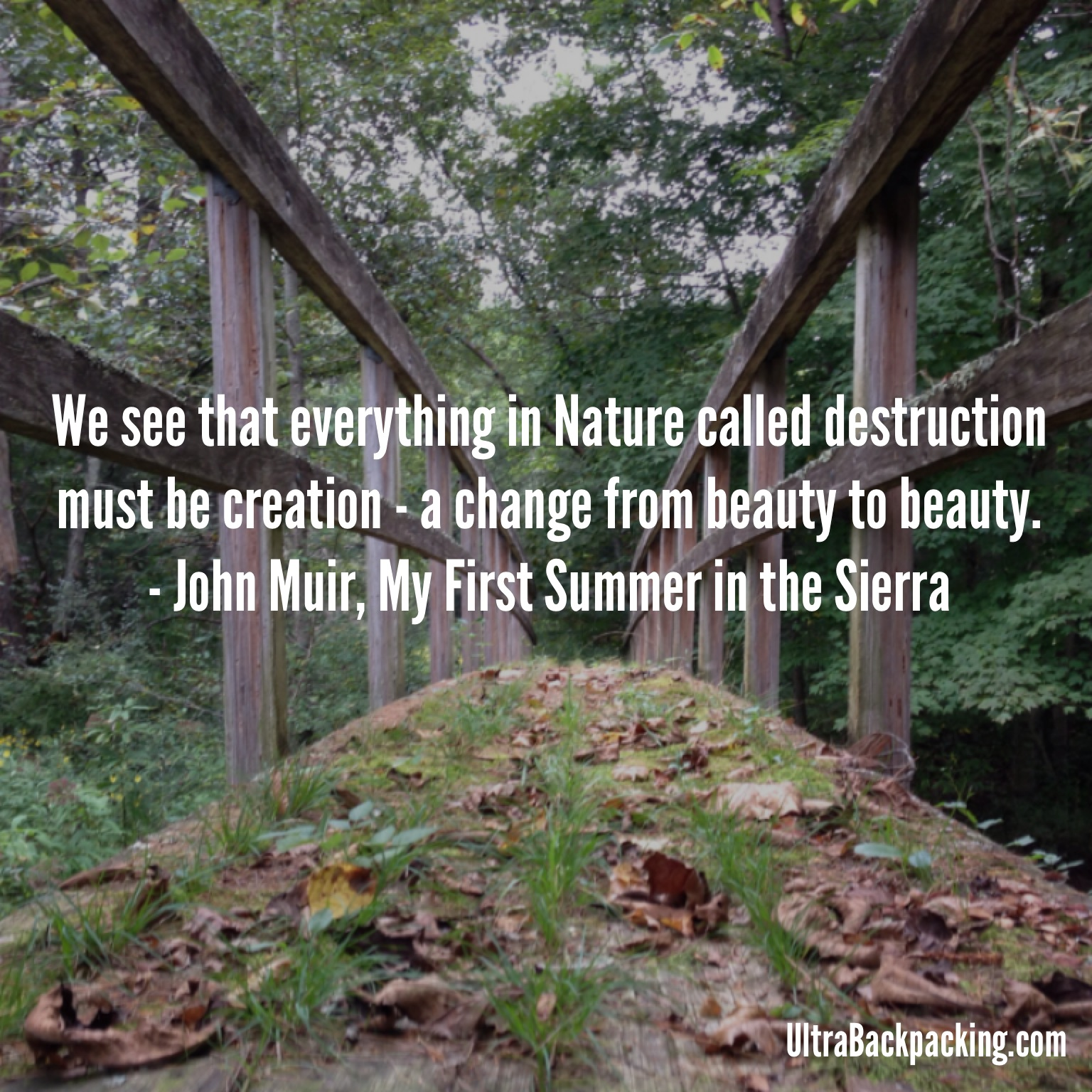 Quotes About Nature Trails 21 Quotes