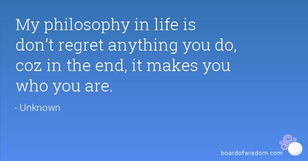 philosophy of life 7 essay