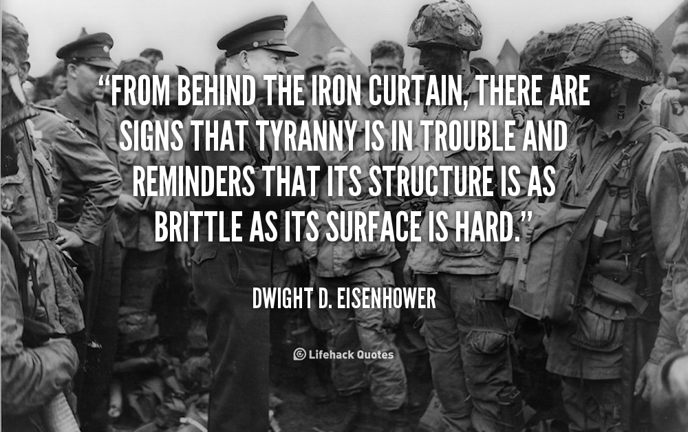 Quotes About Iron Curtain 51