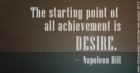 all achievement is napoleon hill