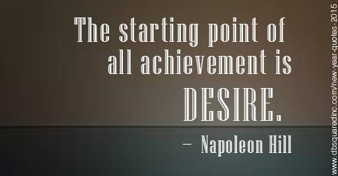all achievement is napoleon hill