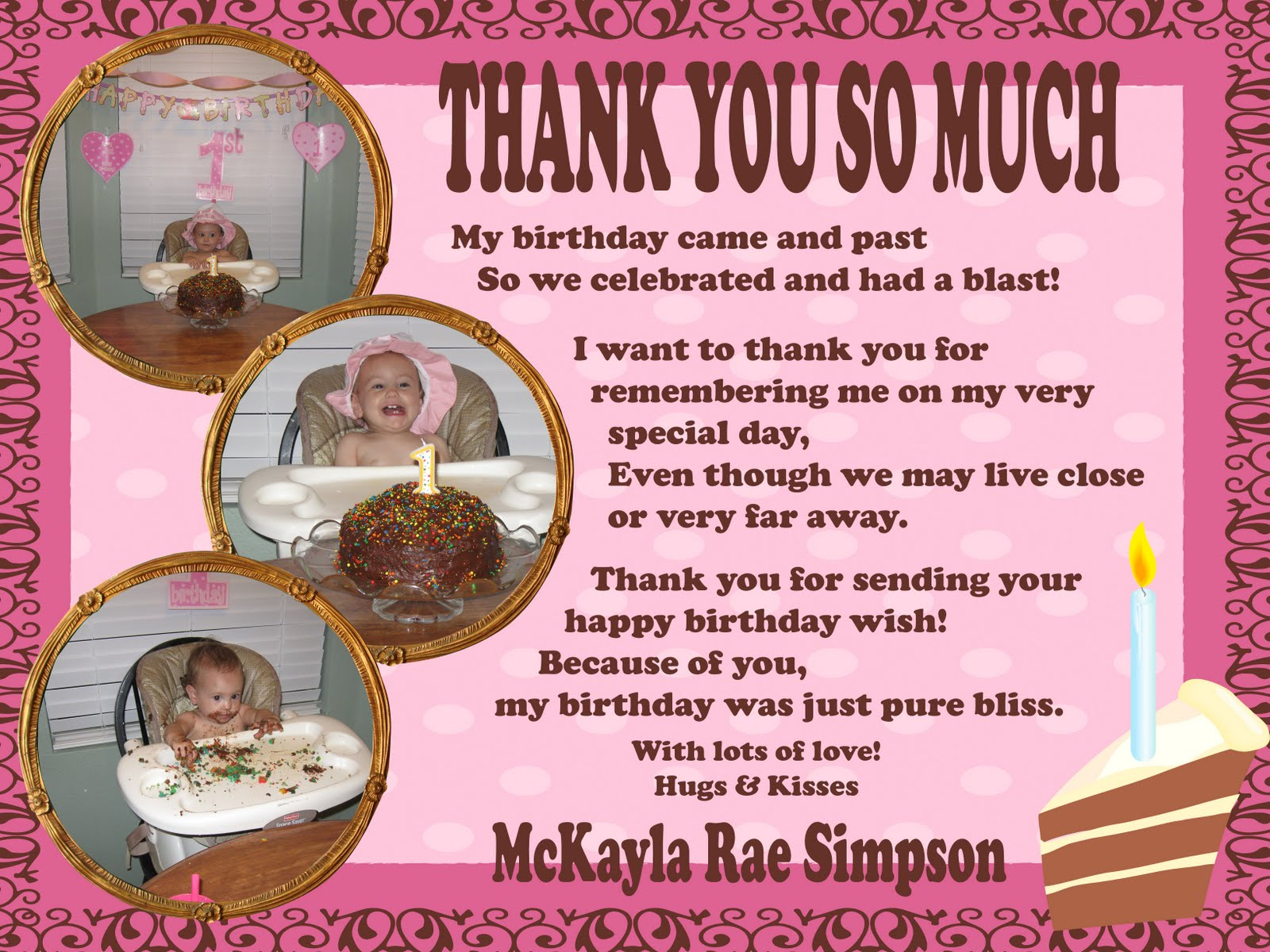 Quotes about birthday thanks 26 quotes m4hsunfo