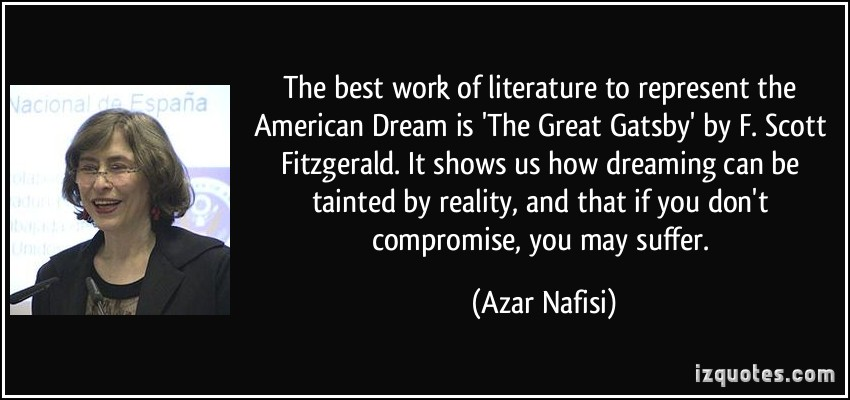 a literary analysis of the american dream in literature