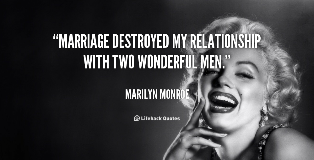 Quotes About Marriage Marilyn Monroe 60 Quotes Gorgeous Marilyn Monroe Quotes About Friendship