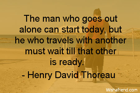 Quotes About Travel Alone 60 Quotes Awesome Travel Alone Quotes