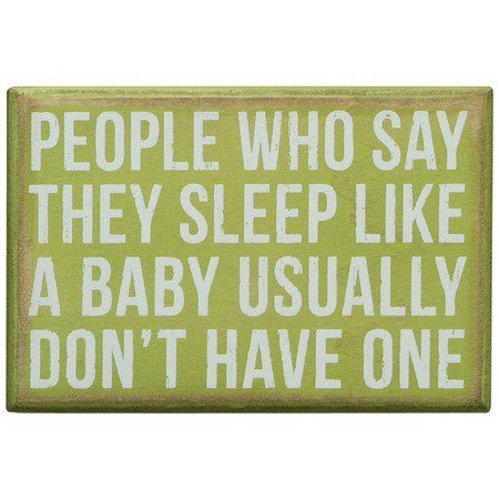 Quotes About Sleeping Baby 33 Quotes
