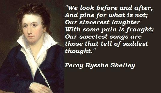 the inspiration of percy shelley in the ode to the west wind