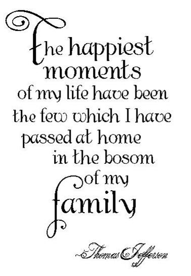 Quotes About Happy Family Moments 60 Quotes Awesome Family Life Quotes