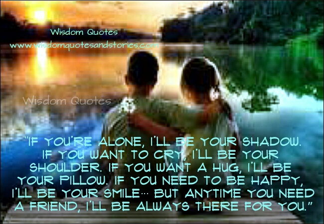 i will i will i will be there