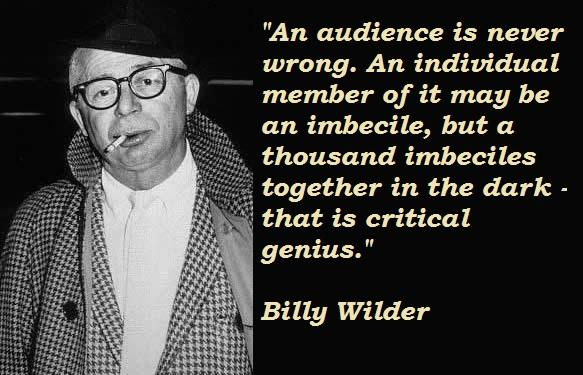 billy wilder favorite movies