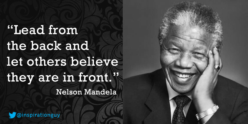 nelson mandela essay leadership Nelson mandela's leadership introduction leadership is a process of socially influencing other people in order to accomplish a particular task (mullins 2009) there exist different styles of leadership which include authoritarian, democratic and laissez-faire.