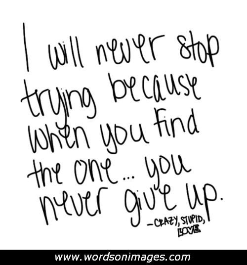 Quotes About Giving Up On Love 56 Quotes