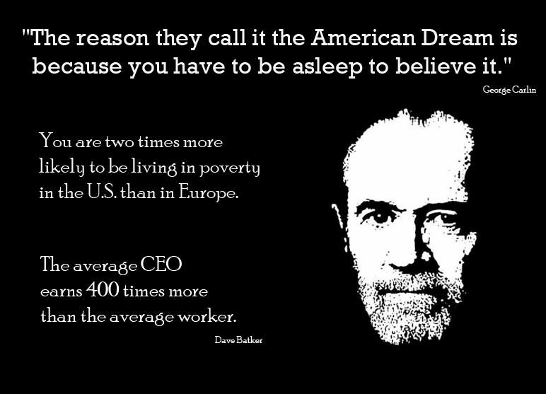 the american dream what is it Really i think the american dream is actually an inter-continental dream and that no matter where in this world you happen to be you want a better life.